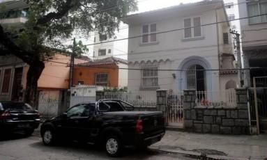 Casa onde menina foi morta, na Tijuca Foto: Rafael Moraes / Agência O Globo