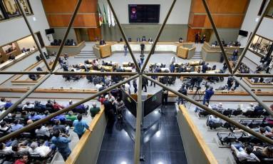 Votação do projeto de lei que regulamenta os aplicativos no transporte de passageiros em Porto Alegre Foto: Elson Sempé Pedroso / Divulgação / Câmara de Porto Alegre