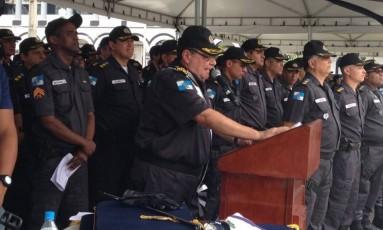 Wolney Dias diz que vai lutar para acabar com ataques a PMs Foto: @SegurancaRJ / Reprodução
