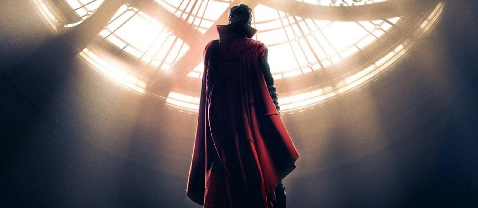 Benedict Cumberbatch dá vida ao maior mago da Marvel Foto: Divulgação