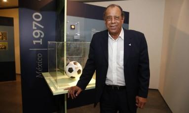 Carlos Alberto Torres foi um dos maiores jogadores da história do Brasil Foto: Agência O Globo