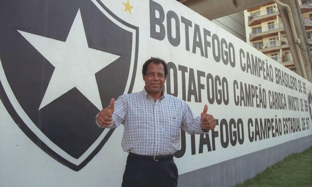 Carlos Alberto Torres foi técnico do Botafogo em diversas oportunidades Cezar Loureiro