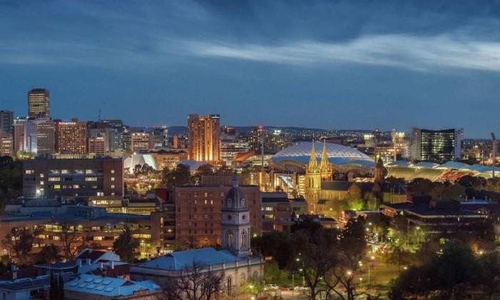 Adelaide, no sul da Austrália Foto: Visit Australia/Divulgação