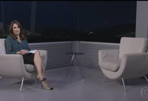 A apresentadora Ana Luíza Guimarães, do