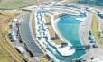 Arena olímpica. Parque Radical, em Deodoro: prefeitura investiu R$ 66,6 milhões em infraestrutura e R$ 17 milhões na colocação de arquibancadas
