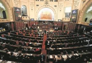 Projeto de lei que reconhece calamidade pública divide opiniões Foto: Domingos Peixoto