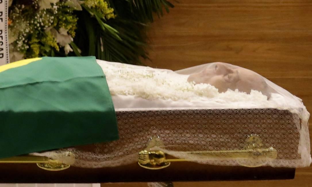 O corpo de Carlos Alberto Torres é velado na Barra da Tijuca Marcelo Theobald