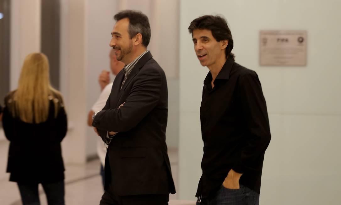 O ex-zagueiro Mauro Galvão no adeus a Torres Marcelo Theobald / Agência O Globo