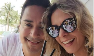 Xanddy e Carla Perez comemoram 15 anos de casados Foto: Instagra / Reprodução