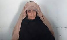 Polícia paquistanesa divulgou foto de (FIA) on October 26, 2016, Afghan Sharbat Gula ao ser presa por falsificar documentos Foto: HO / AFP