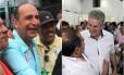 Sorridentes nas ruas, entre si, Alexandre Kalil (PHS) e João Leite (PSDB) elevam o tom nos útlimos dias de campanha Foto: Reprodução