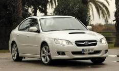 Subaru Legacy, um dos modelos afetados pela campanha de segurança Foto: Arquivo
