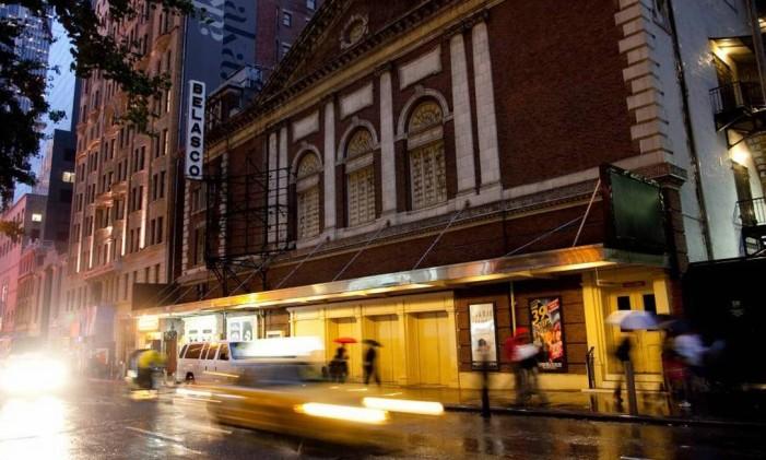 Belasco Theatre, em Nova York Foto: Malcolm Brown / NYC & Company / Divulgação