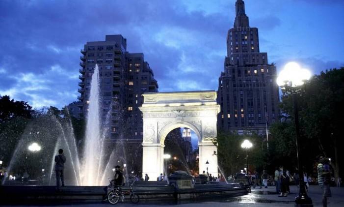Washington Square Park, em Nova York Foto: Alex Lopez / NYC & Company / Divulgação