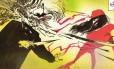 Ilustração de 'Elektra: Assassina', de Bill Sienkiewiecz Foto: Divulgação