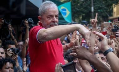 O ex-presidente Luiz Inácio Lula da Silva Foto: Pedro Kirilos / Agência O Globo 15/09/2016
