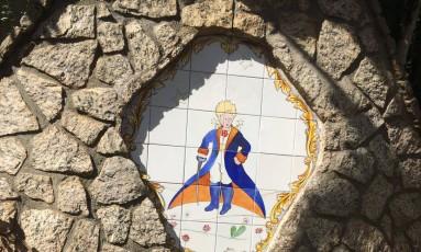 Fonte inaugurada em 200, em homenagem a Saint-Exupéry Foto: Divulgação / La Grande Valée
