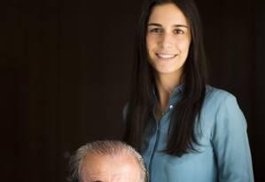 Chaim Zaher e a filha Thamila, do Grupo SEB: renúncia ao Conselho de Administração da Estácio Foto: Mônica Imbuzeiro