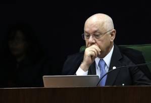 O ministro Teori Zavascki, do Supremo Tribunal Federal Foto: Jorge William / Agência O Globo