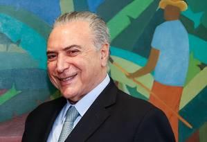 O presidente Michel Temer Foto: Carolina Antunes / Divulgação 26/10/2016
