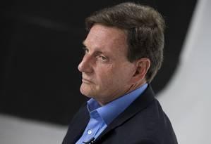 O candidato a prefeito do Rio Marcelo Crivella (PRB) Foto: Márcia Foletto / Agência O Globo / 23-9-2016