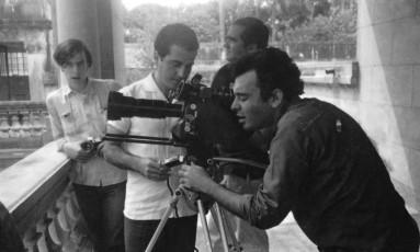 Na foto, Glauber Rocha, Lauro Escorel, Dib Lutfi e Luiz Carlos Barreto Foto: Arquivo