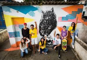 Estudantes ocupam Colégio Estadual Engenheiro Moura Brasil do Amaral, em Paraty (RJ) Foto: Barbara Lopes/29-6-2016 / Agência O Globo