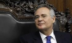O presidente do Senado, Renan Calheiros, Foto: Givaldo Barbosa/Agência O Globo
