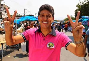 Deodalto José Ferreira, o Dr. Deodalto (DEM), candidato a prefeito de Belford Roxo Foto: Cléber Júnior/ Extra