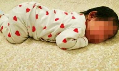 Pai anunciou a filha recém nascida no eBay Foto: Reprodução internet