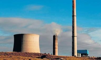 Usina termelétrica em Candiota (RS): região concentra oito das 13 maiores plantas Foto: Michel Filho/16-06-2012