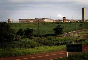 A penitenciária de Catanduvas, no Paraná, é um das quatro unidades federais de segurança máxima, que totalizam 832 celas: distribuição é feita buscando distanciar o grupo criminoso do local de origem ou de domínio Foto: Marizilda Cruppe/7-12-2010