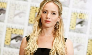 A atriz Jennifer Lawrence foi uma das vítimas do hacker Foto: Richard Shotwell / Agência O Globo