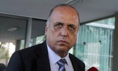 O governador Luiz Fernando Pezão Foto: Givaldo Barbosa / 27-10-2016 / Agência O Globo
