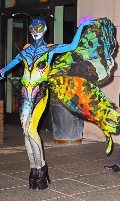 Heidi Klum de borboleta em 2014 JWNY / JosiahW/AKM-GSI