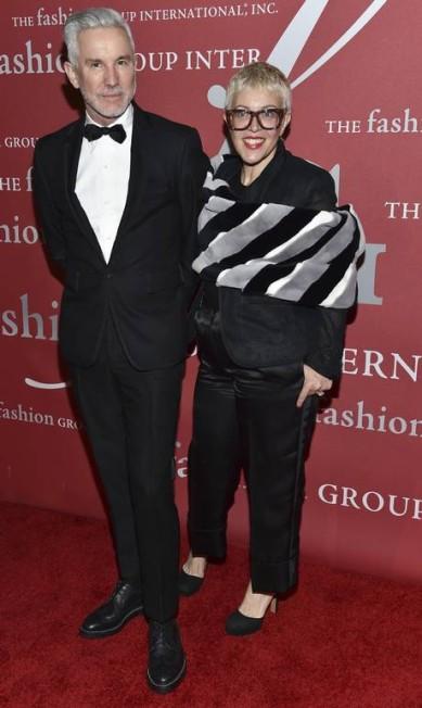 O diretor Baz Luhrmann e sua mulher, a figurinista Cartherine Martin Evan Agostini / Evan Agostini/Invision/AP