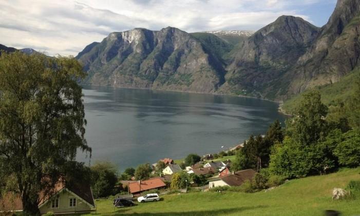 Fiordes na Noruega Foto: Carolina Mazzi