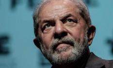 O ex-presidente Lula processa delegado por associação à propina paga pela Odebrecht Foto: Yasuyoshi Chiba/27-10-2016 / AFP