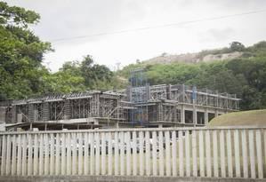 Sem recursos. No campus da UFF da Praia Vermelha, uma das seis unidades inacabadas por falta de verbas Foto: Analice Paron