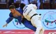 O brasileiro Eric Takabatake perdeu a final para o espanhol Francisco Garrigos Foto: Gabriela Sabau