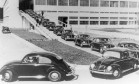 Desfile. Inauguração da fábrica da Volkswagen em São Bernardo do Campo, em São Paulo Foto: 1959 / Divulgação