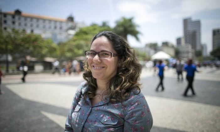 Margallyne Martins, 36 anos Foto: Guito Moreto / Agência O Globo