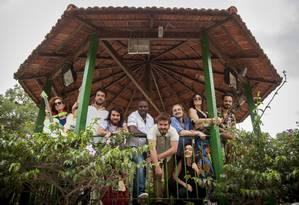 Coreto. Festival Circulando leva atrações musicais ao Centro e às Zonas Norte e Oeste do Rio Foto: Hermes de Paula