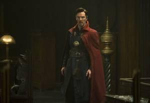 Benedict Cumberbatch como Stephen Strange em 'Doutor Estranho' Foto: Divulgação/Jay Maidment