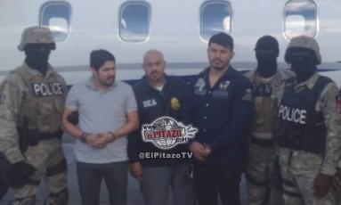 Sobrinhos de Maduro foram presos no Haiti em 2015 Foto: Reprodução