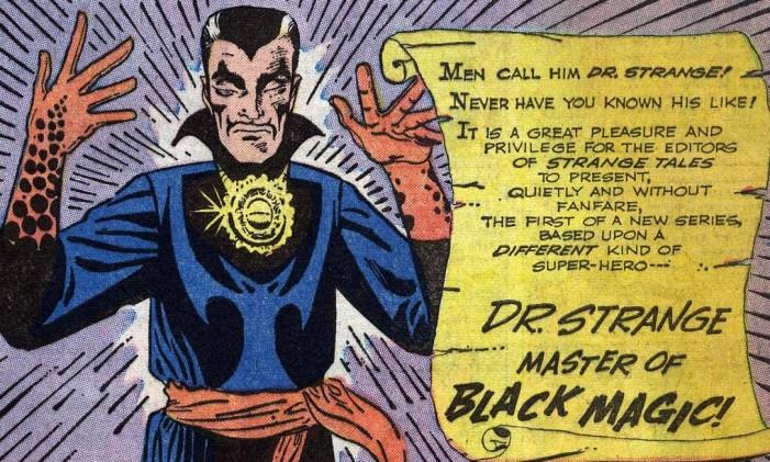 Primeira aparição de Doutor Estranho nos quadrinhos Foto: Reprodução