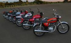 Mais vendida: 11 milhões de unidades da Honda CG já foram vendidas no país Foto: Honda / Divulgação