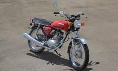 A primeira geração: Honda CG 125 1976 Foto: Extra