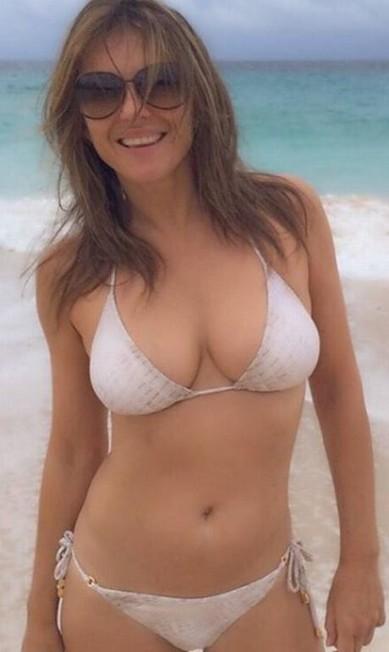 A atriz em Mustique, ilha caribenha famosa por atrair celebridades Reprodução/Instagram