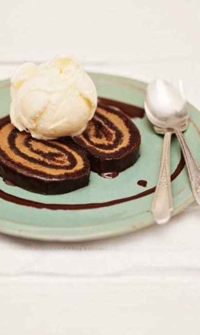 Gula Gula. Rocambole de chocolate com doce de leite (R$ 20) Elisa Correa / Divulgação